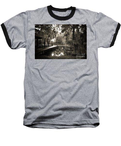 Bayou Evening Baseball T-Shirt
