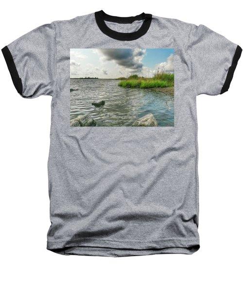 Bayou Sale Fishing Hole Baseball T-Shirt