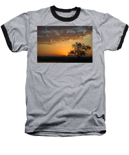 Baseball T-Shirt featuring the photograph Bayview Sunset by Sonya Lang