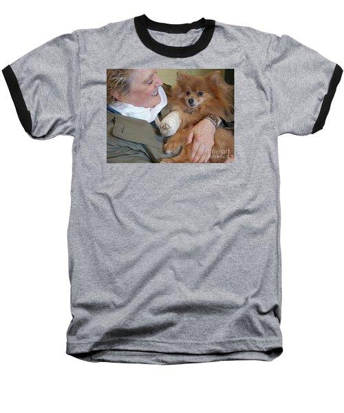 Be Better Soon Baseball T-Shirt by Ann Horn