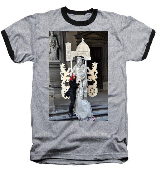 Be Mime Baseball T-Shirt