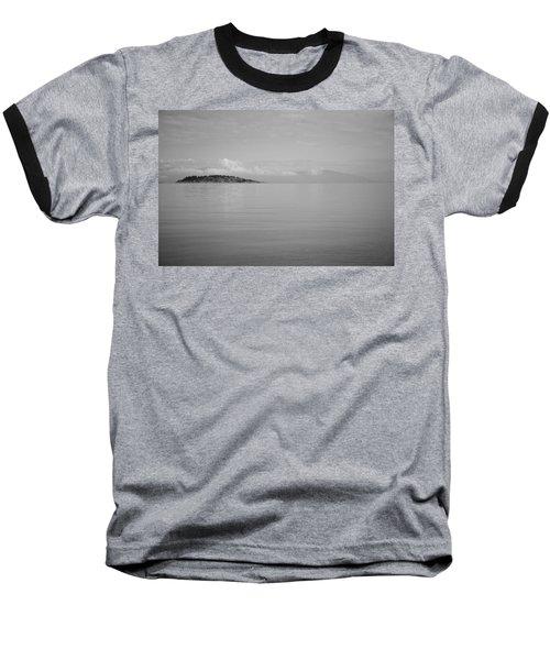 Be Still My Ocean  Baseball T-Shirt by Roxy Hurtubise