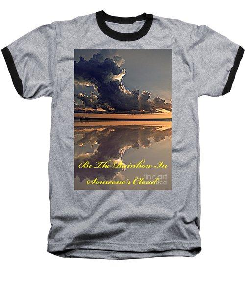 Be The Rainbow Baseball T-Shirt