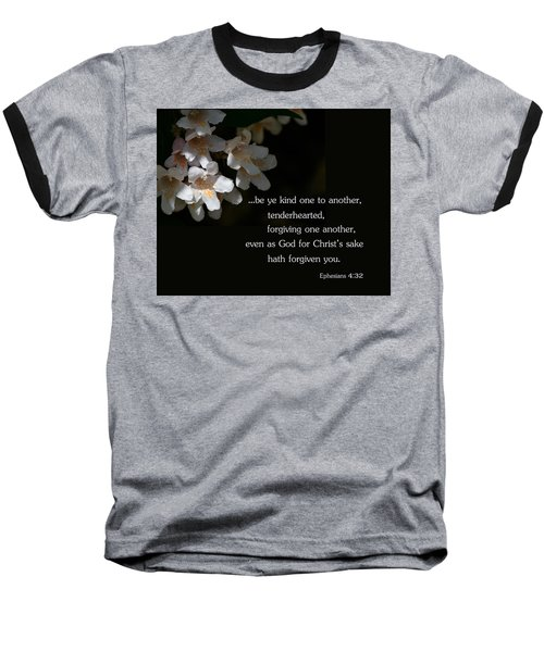 Baseball T-Shirt featuring the photograph Be Ye Kind by Larry Bishop