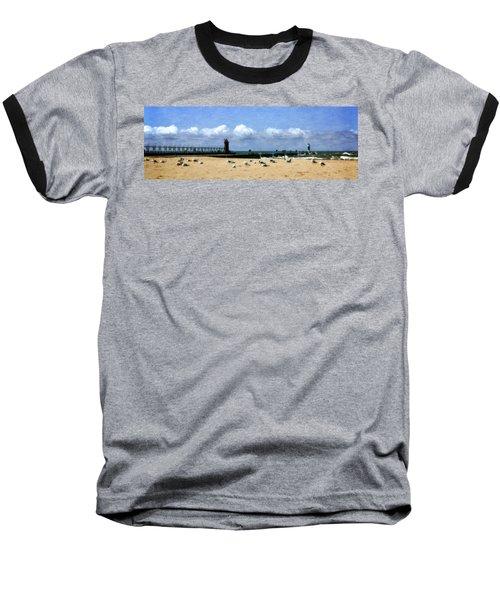 Beach At South Haven  Baseball T-Shirt