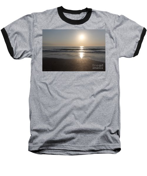 Beach At Sunrise Baseball T-Shirt