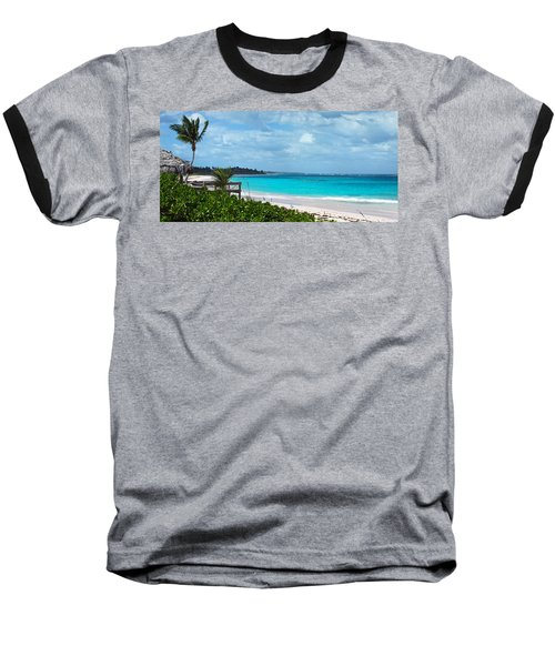 Beach At Tippy's Baseball T-Shirt