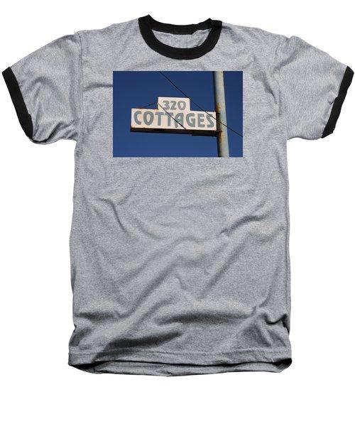 Beach Cottages Baseball T-Shirt