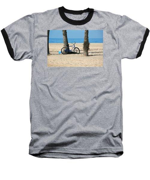 Beach Day Baseball T-Shirt by Art Block Collections