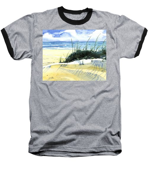 Beach Dunes Baseball T-Shirt