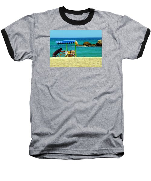 Beach Entrepreneur In San Jose Del Cabo Baseball T-Shirt