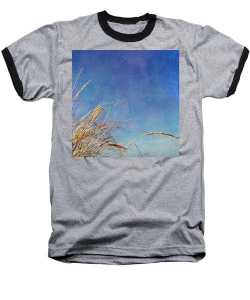 Beach Grass In The Wind Baseball T-Shirt