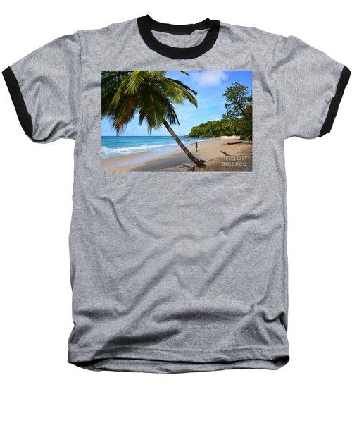 Beach In Dominican Republic Baseball T-Shirt