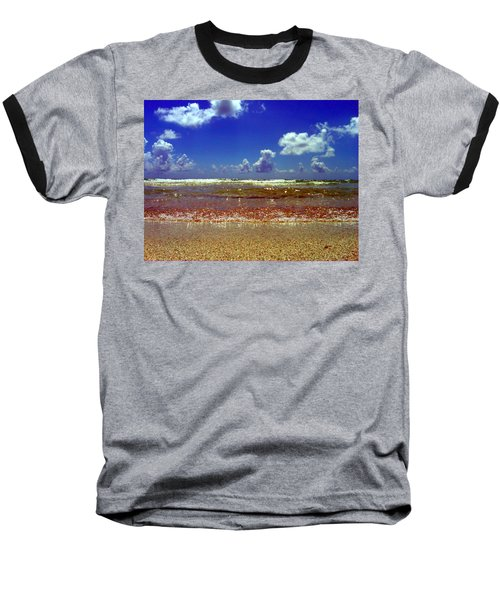 Baseball T-Shirt featuring the photograph Beach by J Anthony