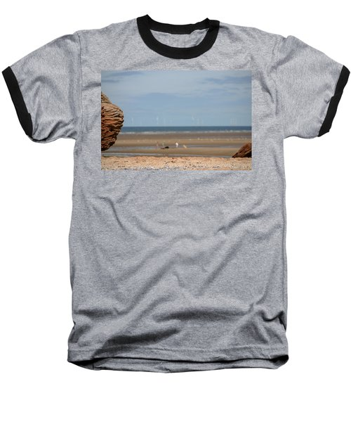 Beach Baseball T-Shirt by Spikey Mouse Photography