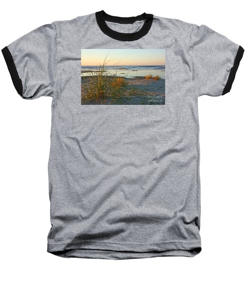 Beach Morning Baseball T-Shirt by Kevin McCarthy