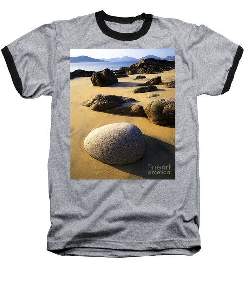 Beach Of Gold Baseball T-Shirt