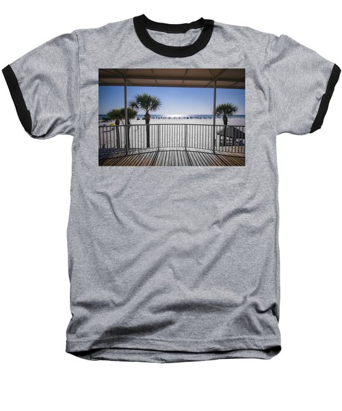 Beach Patio Baseball T-Shirt