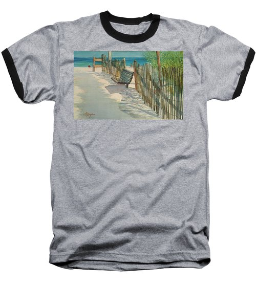 Beach Patterns Baseball T-Shirt