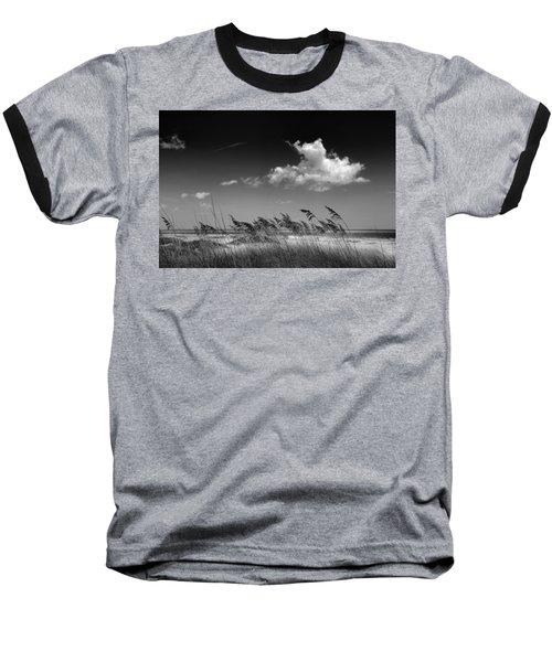 Beach Scene Baseball T-Shirt