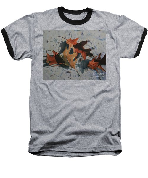 Baseball T-Shirt featuring the painting Beach Still Life by Pamela Clements