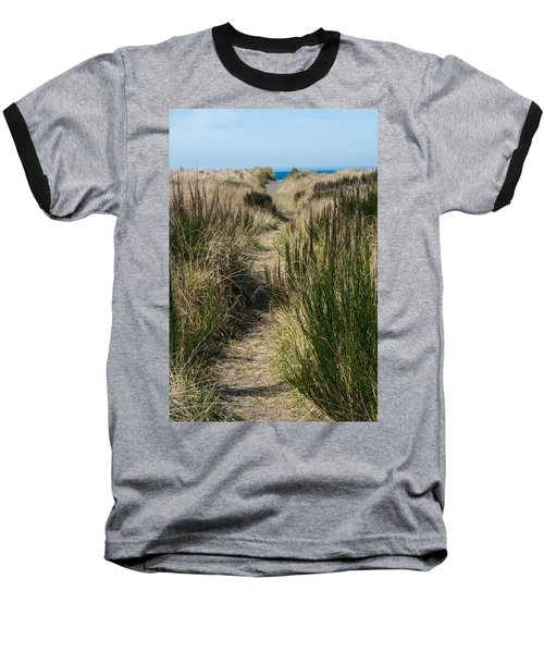 Beach Trail Baseball T-Shirt