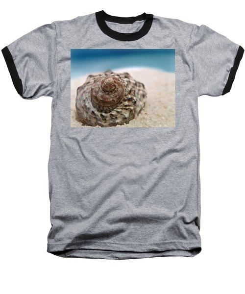 Baseball T-Shirt featuring the photograph Beach Treasure by Micki Findlay