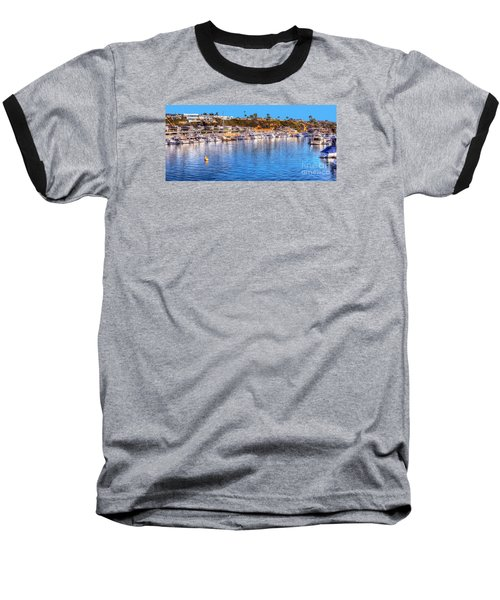 Baseball T-Shirt featuring the photograph Beacon Bay - South by Jim Carrell
