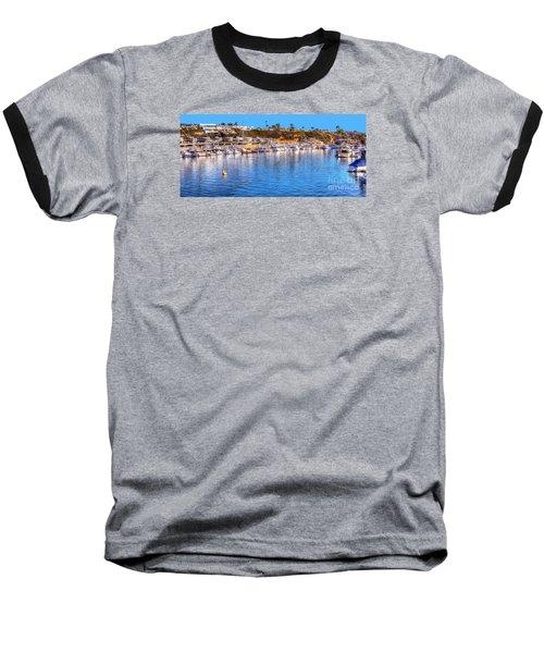 Beacon Bay - South Baseball T-Shirt by Jim Carrell
