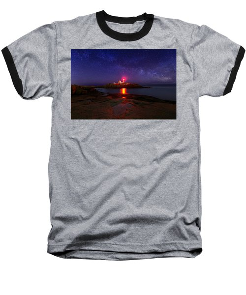 Beacon In The Night Baseball T-Shirt