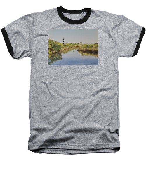 Beacon On The Marsh Baseball T-Shirt