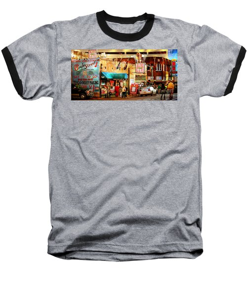 Beale Street Baseball T-Shirt by Barbara Chichester