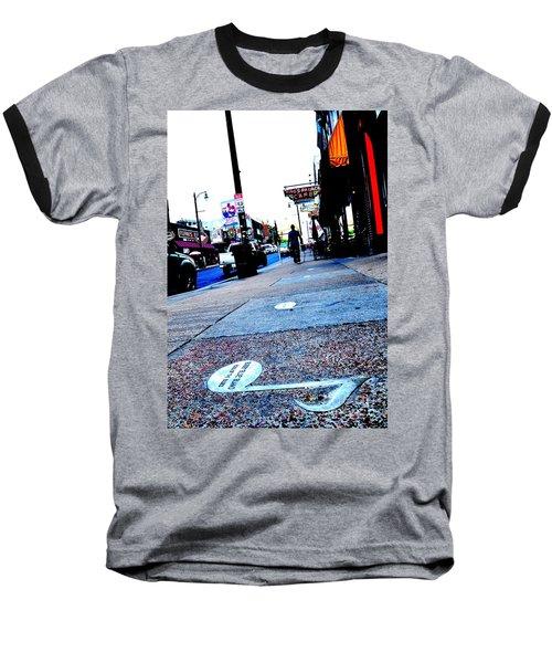 Beale Street Strolling Baseball T-Shirt