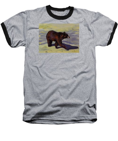 Bear Shadows Baseball T-Shirt