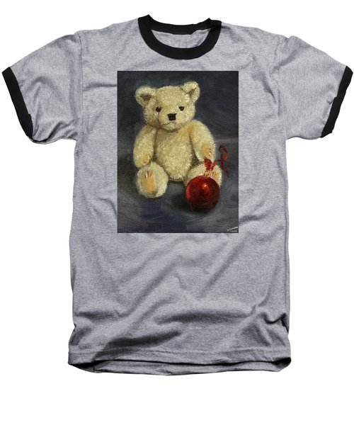 Beary Christmas Baseball T-Shirt