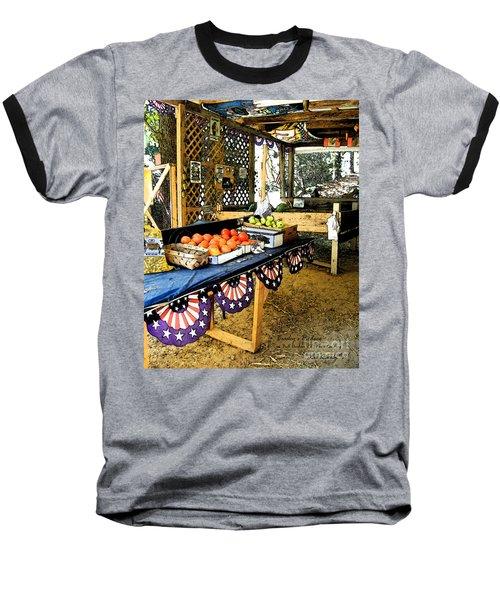 Beasley's Produce Baseball T-Shirt