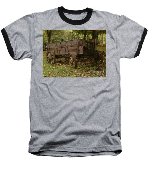 Baseball T-Shirt featuring the photograph Beaten By Time by Sara  Raber
