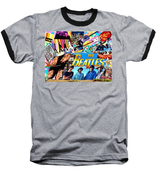 Beatles For Summer Baseball T-Shirt