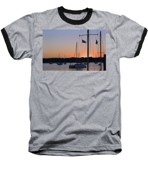 Beaufort Sc Sunset Baseball T-Shirt