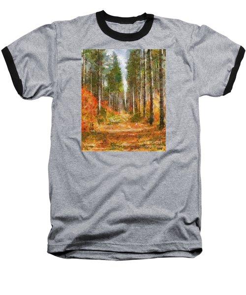 Beautiful Autumn Baseball T-Shirt by Dragica  Micki Fortuna