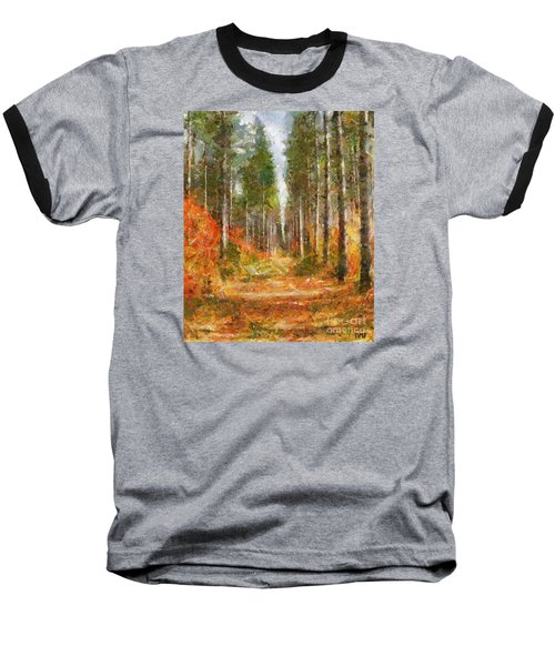 Beautiful Autumn Baseball T-Shirt