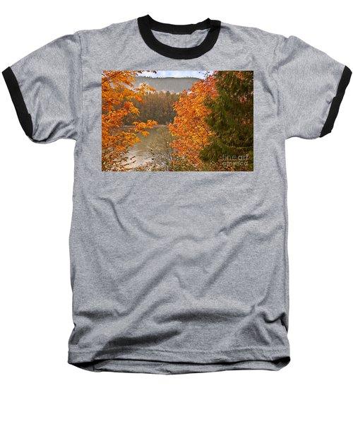 Beautiful Autumn Gold Art Prints Baseball T-Shirt by Valerie Garner