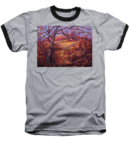 Baseball T-Shirt featuring the painting Beautiful Autumn by Natalie Holland