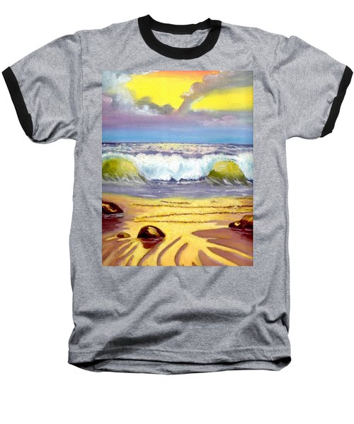 Beautiful Beach Baseball T-Shirt