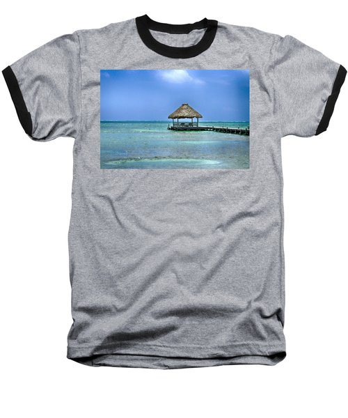 Beautiful Belize Baseball T-Shirt
