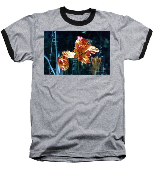 Baseball T-Shirt featuring the photograph Gorgeous Tulip by Phyllis Kaltenbach