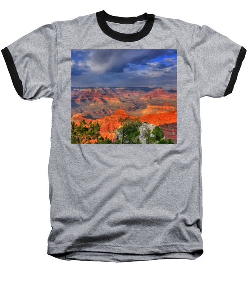 Baseball T-Shirt featuring the painting Beautiful Canyon by Bruce Nutting