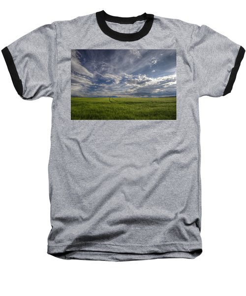 Beautiful Countryside Baseball T-Shirt