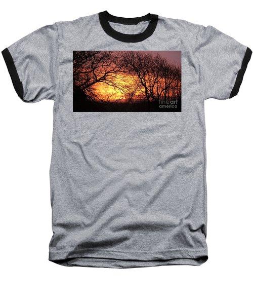 Beautiful Dawn Baseball T-Shirt by Richard Brookes