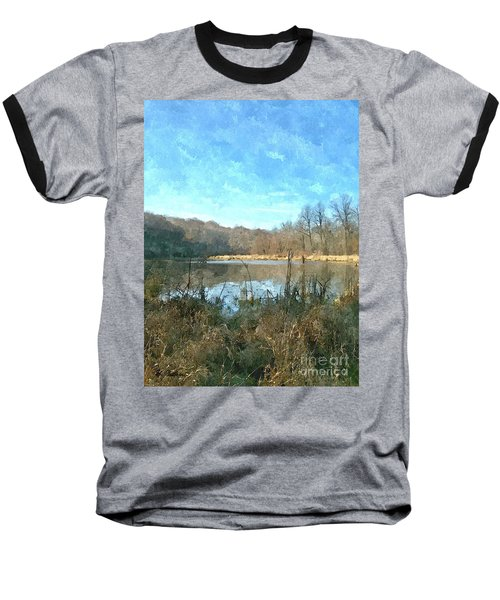 Baseball T-Shirt featuring the photograph Beautiful Day 2 by Sara  Raber